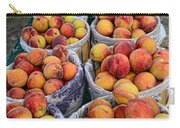 Food - Harvested Peaches Carry-all Pouch