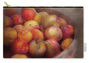 Food - Peaches - Farm Fresh Peaches  Carry-all Pouch by Mike Savad