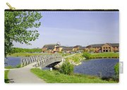 Foot-bridge And Lake - Barton Marina Carry-all Pouch