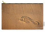 Foot Print Carry-all Pouch by Carlos Caetano