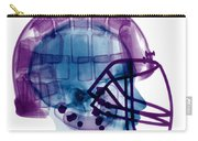 Football Helmet X-ray Carry-all Pouch