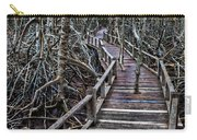 Footpath In Mangrove Forest Carry-all Pouch