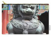 Forbidden City Lion Guardian Carry-all Pouch
