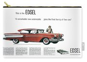 Ford Cars: Edsel, 1957 Carry-all Pouch