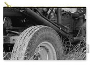 Ford Tractor Details In Black And White Carry-all Pouch
