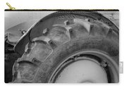 Ford Tractor In Black And White Carry-all Pouch