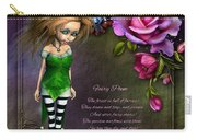 Forest Fairy Jn The Rose Garden Carry-all Pouch