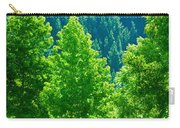 Forest Illuminates In The Sunlight  Carry-all Pouch