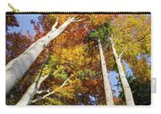 Forest In Autumn Bavaria Germany Carry-all Pouch