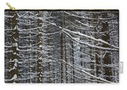 Forest Of Marburg In Winter Carry-all Pouch