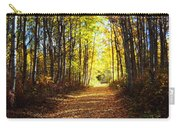 Forest Path In Autumn Carry-all Pouch