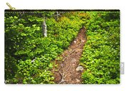 Forest Path In Newfoundland Carry-all Pouch by Elena Elisseeva