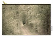 Forest Path Carry-all Pouch by Svetlana Sewell