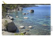 Forested Shores Of Lake Tahoe Carry-all Pouch
