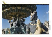 Fountain At Place De La Concorde. Paris. France Carry-all Pouch