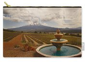 Fountain At Shasta Lavender Farm Carry-all Pouch