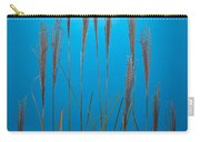 Fountain Grass In Blue Carry-all Pouch