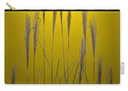 Fountain Grass In Yellow Carry-all Pouch