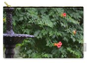 Fountain In The Garden Carry-all Pouch