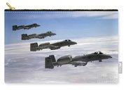 Four A-10 Thunderbolt IIs Fly Carry-all Pouch