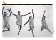Four Dancers Leaping Carry-all Pouch