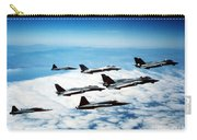 Four F-14 Tomcats And Three F-5 Tiger Carry-all Pouch