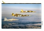 Four F-5 Tiger IIs Fly Above Southern Carry-all Pouch