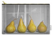 Four Pears On Windowsill Carry-all Pouch