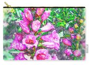 Foxglove Floral Carry-all Pouch
