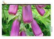 Foxglove Flower Buds - Digitalis Purpurea Carry-all Pouch