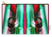 Fractal 29 Christmas Ribbons Carry-all Pouch