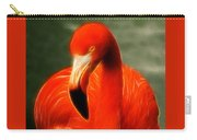 Fractalius Flamingo Carry-all Pouch