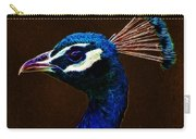 Fractalius Peacock Carry-all Pouch