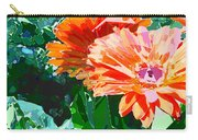 Fractured Gerber Daisies Carry-all Pouch