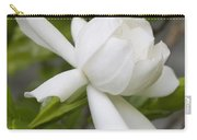 Fragrant White Gardenia Blossom Carry-all Pouch