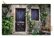 Framed In Flowers Dordogne France Carry-all Pouch