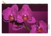 Framed Orchids Carry-all Pouch