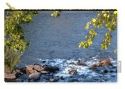 Framed Rapids Carry-all Pouch by Robert Bales