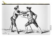 France: Fencing, C1750 Carry-all Pouch