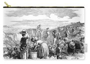 France: Grape Harvest, 1854 Carry-all Pouch