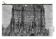 France: Reims Cathedral Carry-all Pouch
