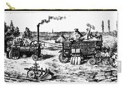 France: Steam Threshing Carry-all Pouch