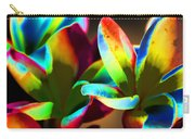 Frangipani Flowers Of Color Carry-all Pouch