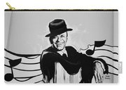 Frank In Black And White Carry-all Pouch