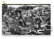 Franklin: Cartoon, 1764 Carry-all Pouch