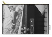 Fred And Ginger In Black And White Carry-all Pouch