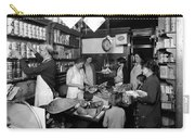Fred Grovers Grocery Store Carry-all Pouch by Photo Researchers