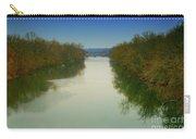 Fredericksburg Virginia River Carry-all Pouch