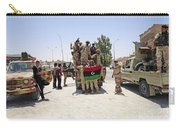 Free Libyan Army Troops Pose Carry-all Pouch