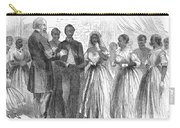 Freedmen: Wedding, 1866 Carry-all Pouch by Granger